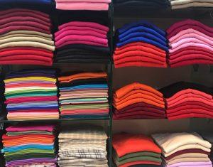 Pashmina shawls at Kitty Inc.